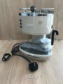 Delonghi Icona Vintage Coffee Espresso Machine Maker Cappuccino Steam Retro