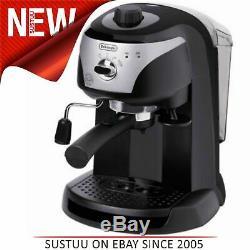 Delonghi Motivo Pump Espresso & Cappuccino Coffee MachineBlackECC 221. BNEW