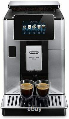 Delonghi PrimaDonna Soul ECAM610.75. MB Fully Automatic Coffee Machine, Silver