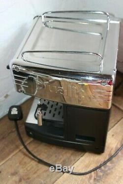 Dualit Espresso Machine 84009 Chrome With ESE Pod holder Coffee Cappuccino