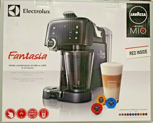 Electrolux Lavazza A Modo Mio Fantasia Coffee Espresso & Cappuccino Machines Red