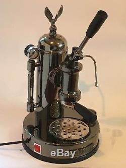 Elektra Microcasa Lever Coffee, Espresso & Cappuccino Machine Chrome 220v