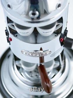 Elektra Mini Verticale A1 Espresso Coffee & Cappuccino Maker Machine Chrome 110V