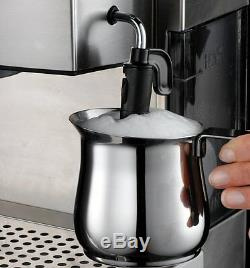 Espresso Cappuccino Machine Coffee Maker Expresso Latte Frother Self Priming New