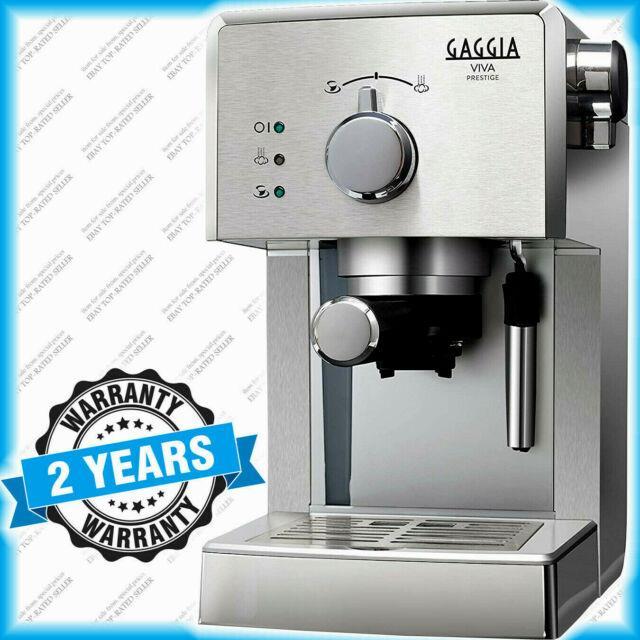 Espresso Coffee Machine Gaggia Viva Prestige Ri8437/11 Stainless Steel