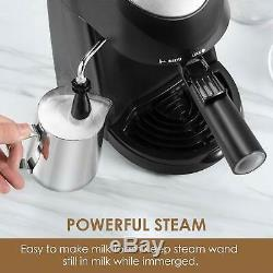 Espresso Machine, Aicook 3.5Bar Coffee Maker, Espresso & Cappuccino, Milk Frother