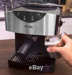 Espresso Machine Automatic Dual Shot Cappuccino Bar Coffee Latte Maker New Best