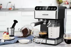 Espresso Machine, Barista Coffee Maker/Automatic Milk Frother /Latte /Cappuccino