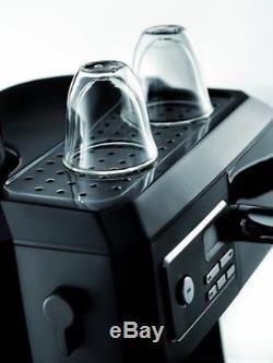 Espresso Machine Cappuccino Coffee Maker Combo Black Kitchen DeLonghi Ground New