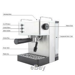 Espresso-Machine-Cappuccino-Expresso-Latte-Coffee-Maker High Pressure Italy Pump