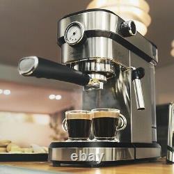 Express Manual Coffee Machine Cecotec Cafelizzia 790 Steel Pro 1,2 L 20 Bar 1350