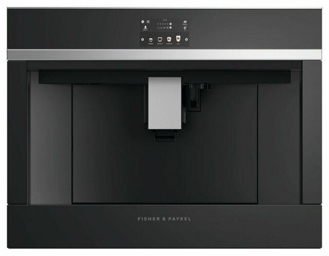 Fisher & Paykel Eb60dsxb2 Bean To Cup Built In Coffee Machine Black & Stainless
