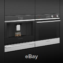 Fisher & Paykel EB60DSXB2 Bean to Cup Integrated Coffee Machine Black&Stainless