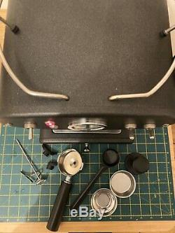 Francis Francis X1 TRIO coffee machine, espresso, cappuccino, in graphite finish