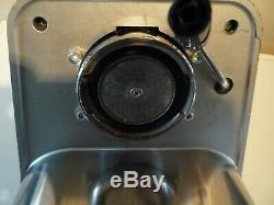 GAGGIA BABY CLASS ESPRESSO/CAPPUCCINO coffee machine silver/grey