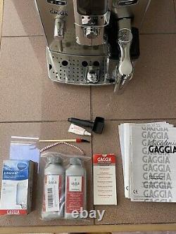 Gaggia Accademia Coffee And Espresso Maker Chrome Super Automatic