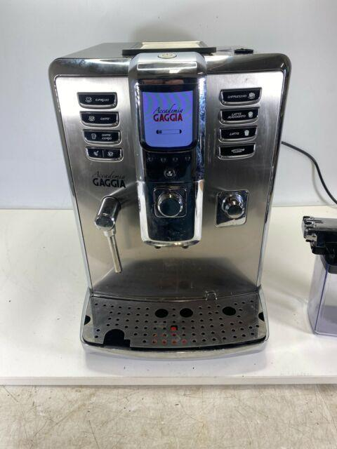 Gaggia Accademia Coffee And Espresso Maker Stainless With Froth Container