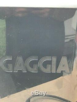 Gaggia Brera 5 Cups Espresso, Cappuccino, Coffee Machine Black/Silver