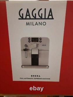 Gaggia Brera Super Automatic Espresso Machine Pannarello Coffee Silver