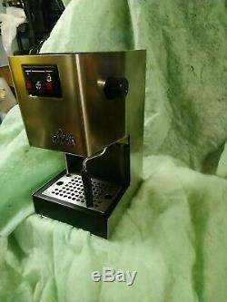 Gaggia Classic 2005 coffee cappuccino maker espresso Serviced