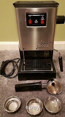 Gaggia Classic Coffee Espresso/Cappuccino Machine Works Great