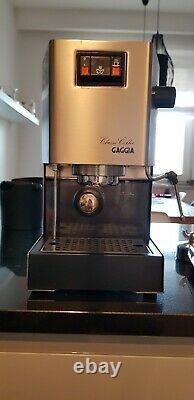 Gaggia Classic espresso coffee machine
