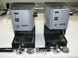 Gaggia Coffee Deluxe Espresso Machine, Silver