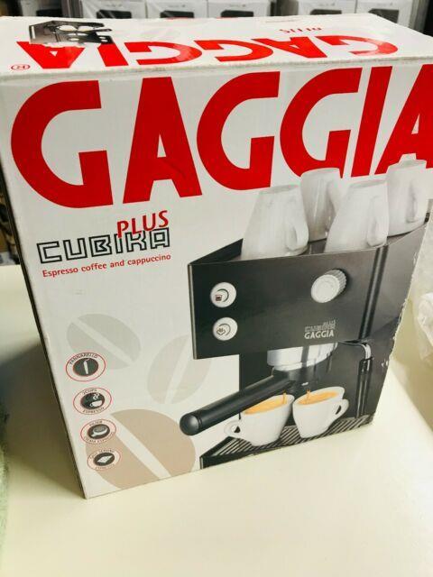 Gaggia Cubika Plus Espresso Coffee Cappuccino Machine Barista Style