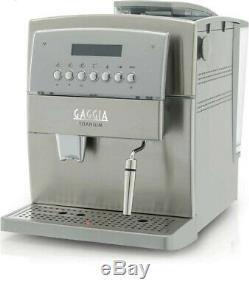 Gaggia TITANIUM STAINLESS STEEL COFFEE, ESPRESSO & CAPPUCCINO MACHINE