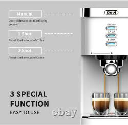 Gevi Espresso Automatic Cappuccino Coffee Maker with Foaming Milk Frother