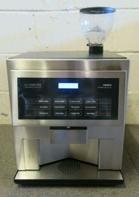 Hlf Liquidline 3600 Bean To Cup Commercial Coffee Cappuccino Espresso Machine