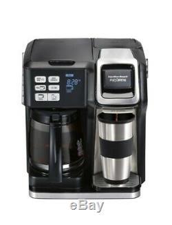 Hamilton Beach FlexBrew 2-Way Thermal Coffee Maker in Black
