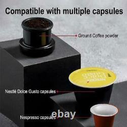 Hibrew Portable Car Coffee Maker USB Pod Machine Capsule Espresso Travel Kit 12v