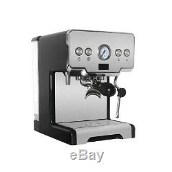 Household Italian Semi-Automatic Espresso Cappuccino Latte Coffee Machine 1450W