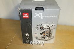 Illy X1 Anniversary 1935 Espresso Machine Coffee Maker RED Cappuccino NEW