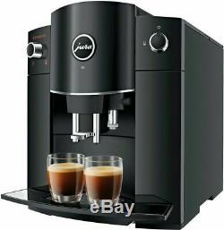 JURA D6 Piano Black coffee machine, free shipping Worldwide