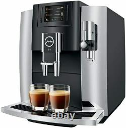 JURA E8 Automatic Coffee Machine Chrome #15271