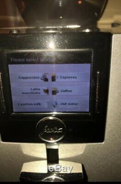 JURA Impressa XJ9 Professional Coffee Expresso Machine Brilliant Silver 13637