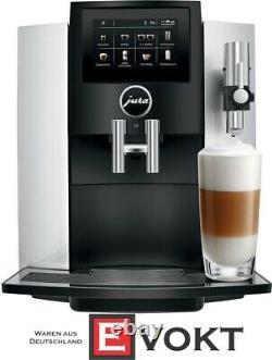 JURA S8 15-bar Fully Automatic Espresso Coffee Machine Moonlight Silver NEW