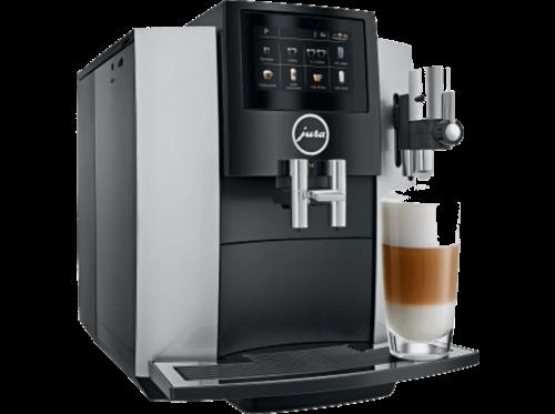 Jura S8 Automatic Coffee Machine With Touchscreen Moonlight Silver 220v