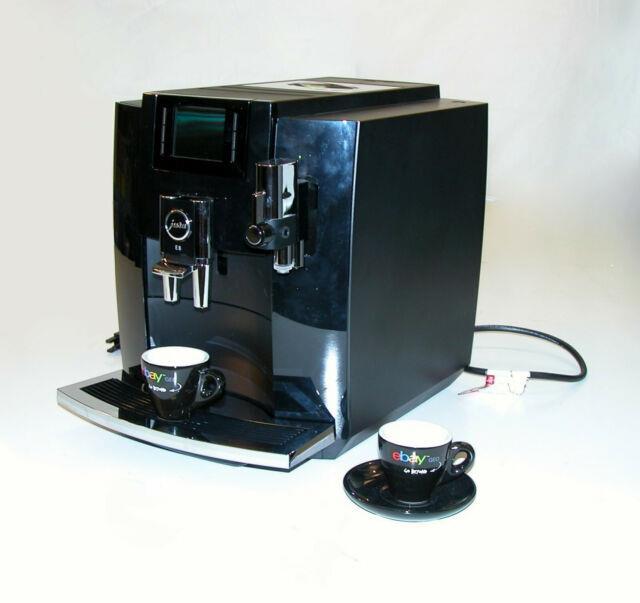 Jura 15270 E8 Super Automatic Espresso Coffee Machine Pulp Extraction Black