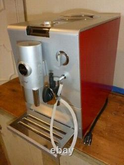 Jura-Capresso ENA5 Coffee & Espresso Maker Red / Silver Fully automatic
