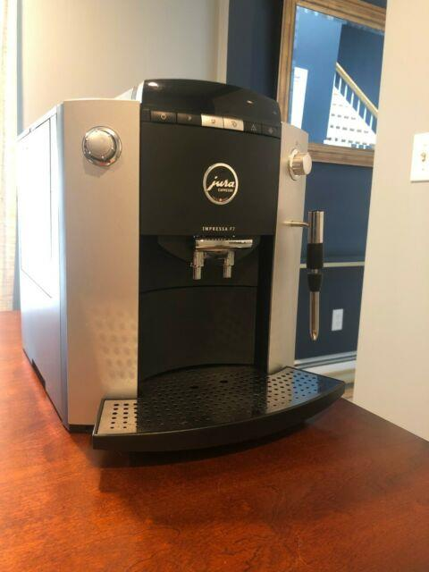 Jura-capresso Impressa F7 Coffee/espresso Machine Great Condition