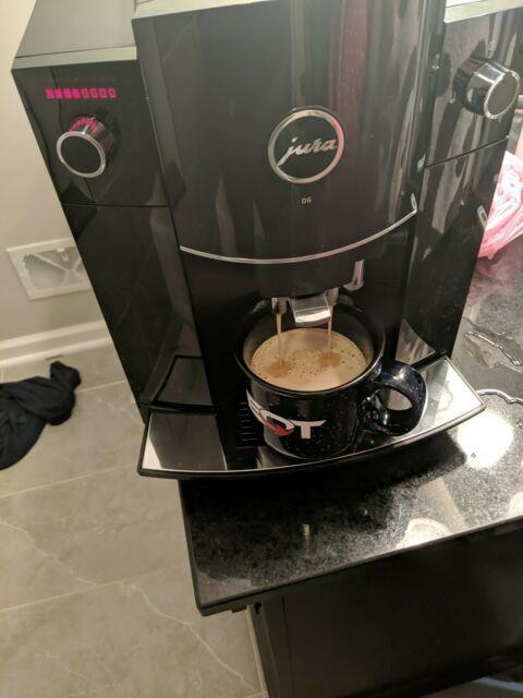 Jura D6 Automatic Coffee/espresso Machine Piano Black