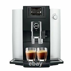 Jura E6 Automatic Coffee Center 15070 Platinum