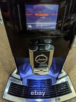 Jura E8 Automatic Espresso Coffee Machine Black Chrome 15097 Type 735 WIFI