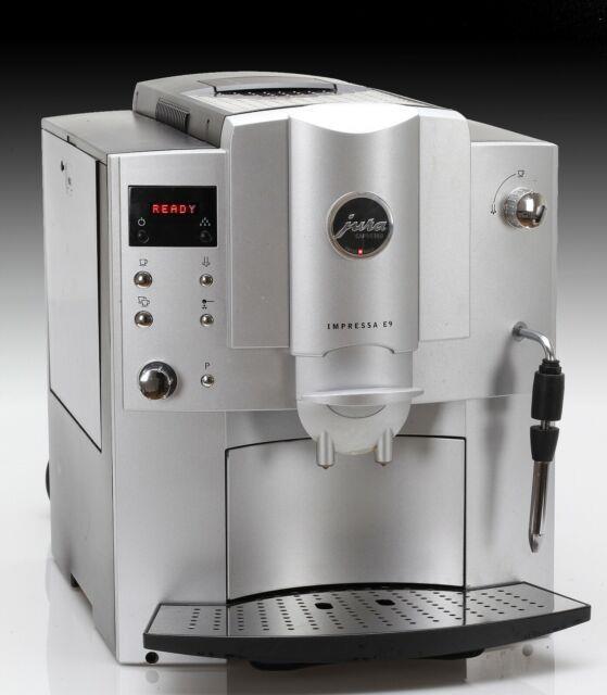Jura E9 Automatic Coffee/espresso/ Cappuccino Center Platinum Silver