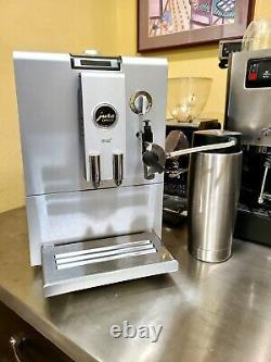 Jura ENA 4 Coffee & Espresso Maker. Includes cappuccino milk chiller Serviced