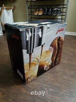 Jura Ena 9 One Touch Coffee Espresso Automatic Machine Metallic
