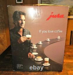 Jura IMPRESSA F8 ($2400) Automatic Coffee Machine Model 15025, Swiss+Made NICE